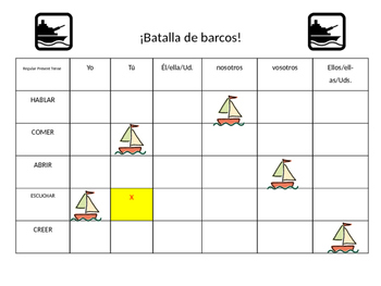 Bingo & Battleship Game Boards