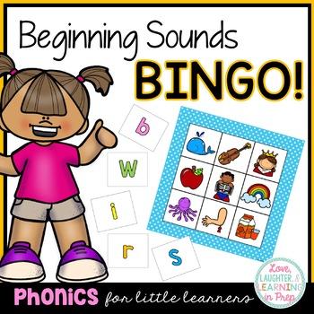Bingo - Beginning Sounds!