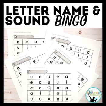 BINGO Boards: Reinforcing Letter Names and Sounds