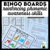 BINGO Boards: Reinforcing Phonemic Awareness Skills