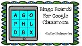 Bingo Boards for Google Classroom