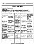 Bingo Book Report (Spanish and English)