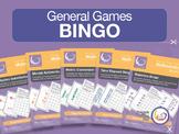 Bingo Bundle 1 | 5 Games for Basic Math - Algebra, Time, M