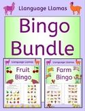 Bingo Game Bundle for EFL ESL EAL MFL