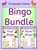 Bingo Game Bundle for EFL ESL EAL MFL