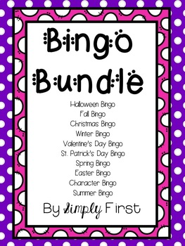 Bingo Bundle! (10 total games)