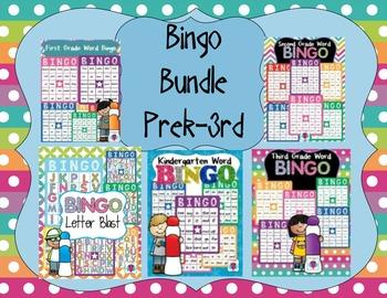 Bingo Bundle  K-3