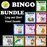 Bingo Bundle - Long and Short Vowels