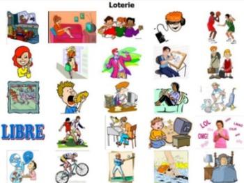 Bingo Bundle for Passetemps Vocab