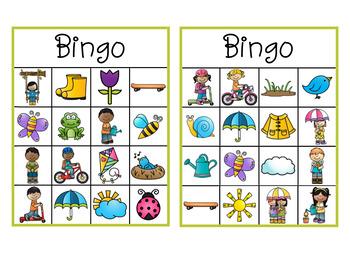Bingo C'est le printemps