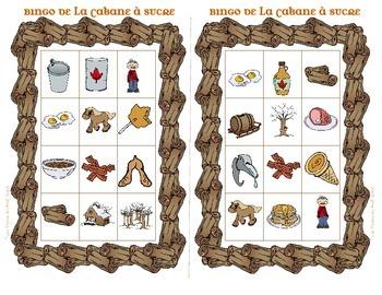 Bingo Cabane à Sucre