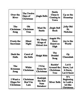 Bingo Callers for Holiday Bingo