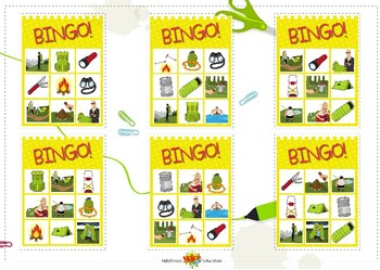 Bingo Camping All Sets