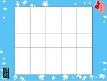 Bingo Cards (Blank)