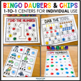 Bingo Chips/Daubers 1:1 Centers for Individual Use