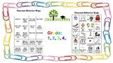 Bingo Classroom Behaviour Chart