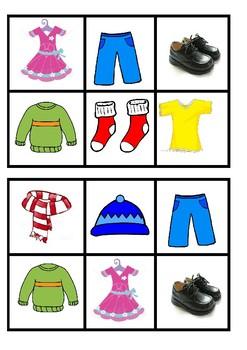 Bingo - Clothes/Éadaí