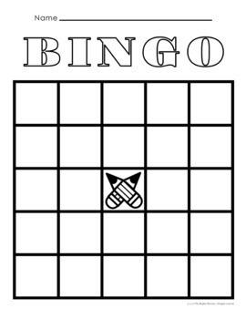 Bingo Templates and Ideas FREE