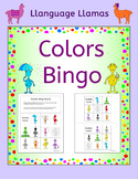 Colors Bingo for EFL ESL EAL MFL