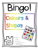 Bingo - Colours and Shapes