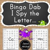 Bingo Dab Alphabet Letter Recognition Book