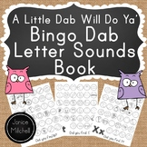 Bingo Dab Alphabet Letter Sound Book Kindergearen to Grade 1