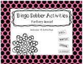 Roll and Color - Bingo Dobber Activity Printables - 19 Act