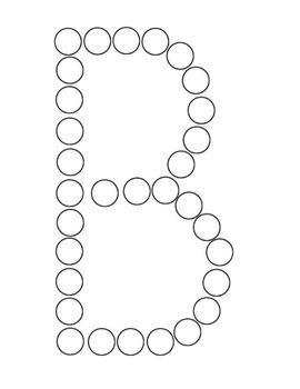 Bingo Dabber Alphabet