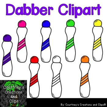Bingo Dabber Clipart for Personal or Commercial Use