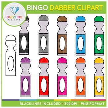 Bingo Dabber (Dauber) Clip Art