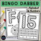 Bingo Dabber Do a Dot Alphabet and Number Activities