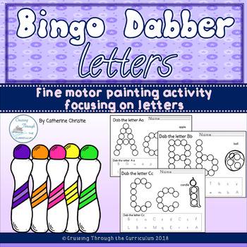 Bingo Dabber Letters