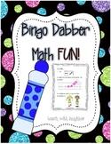 Bingo Dabber Math FUN!