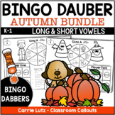 Bingo Dabber Thanksgiving Phonics ~  Short Vowels Magic E Bundle