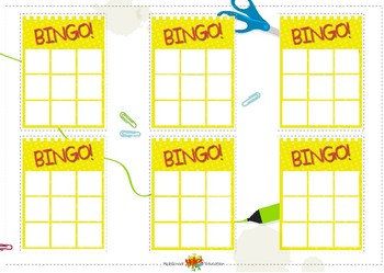Bingo Daily Routines All Sets