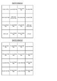 Bingo - Dates