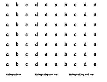 Bingo Dauber ABC's