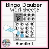 Bingo Dauber Worksheets Bundle