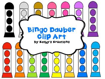 Bingo Dauber Clip Art -Free