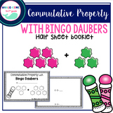 Commutative Property with Bingo Daubers