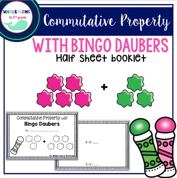 Commutative Property with Bingo Daubers