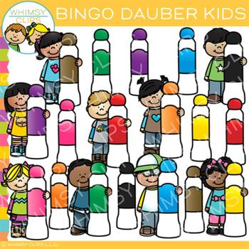 Kids Bingo Dauber Clip Art