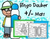 Bingo Dauber Math: Addition and Subtraction