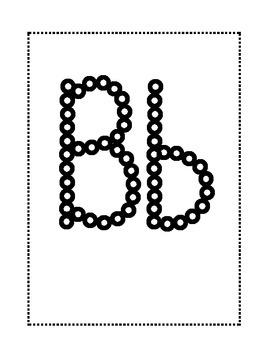 Bingo Dot Alphabet