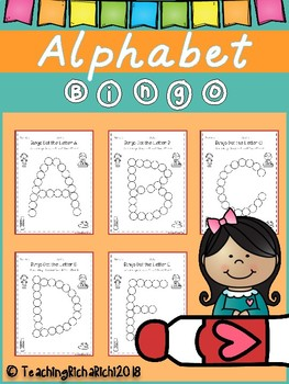 Bingo Dot Alphabet (Upper Case)