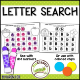 Bingo Dot Letter Search