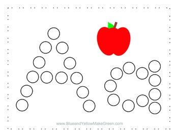 Bingo Dot Letters A-Z