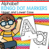 Bingo Dot Marker Alphabet Upper and Lower Case - Letter Recognition, Fine Motor