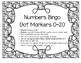 Numbers Bingo Dot Markers 0-20