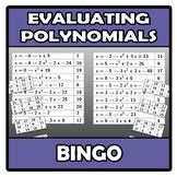 Bingo - Evaluating polynomials - Valor numérico